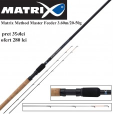 Lanseta feeder Matrix Method Master Feeder 3.60m/20-50g