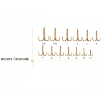 Ancore Baracuda 1/0,2/0,3/0