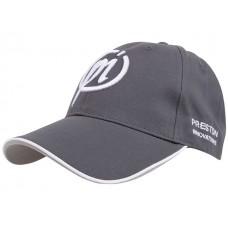 Preston Grey  White Cap