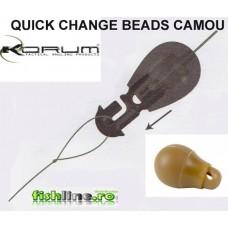 korum quick change beads camou