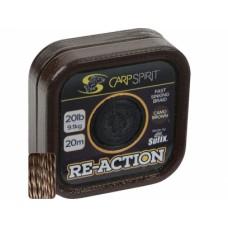 Fir textil Carp Spirit Re-Action Braid /20m Camo Brown
