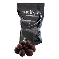 Boilies The One Black Squid Octopus   Pruna 1kg FIERT