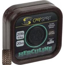 Fir textil Carp Spirit Herculine Braid  20m Camo Brown