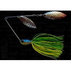 Bertilure SPINNERBAIT CU SKIRT  Lime-Chartreuse