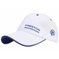 Sapca Preston White / Navy Cap
