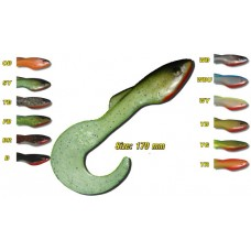 ORKA Shad Tail 17CM