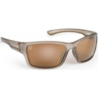 Ochelari Polarizati Fox Avius Wraps Trans Khaki Frame/Brown Mirror Lens