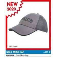 Sapca Preston Grey Mesh Cap