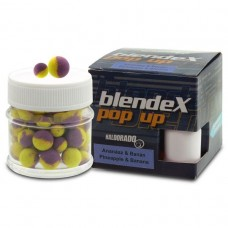Haldorado - BlendeX Pop Up Big Carp 12, 14 mm - Ananas + Banane