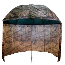 Umbrela cu paravan camuflaj PVC Delphin