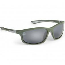 Ochelari Polarizati Fox Avius Wraps Green & Silver Frame/Grey Lens