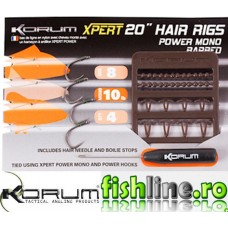 Korum Xpert Mono Hair Rigs Barbed
