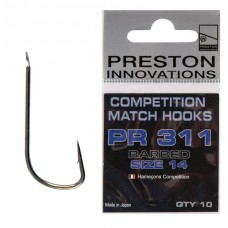 PRESTON COMPETITION MATCH HOOKS PR 311