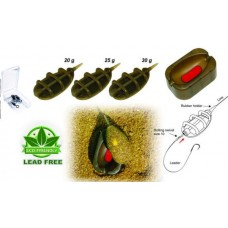 Extra Carp Method Feeder In Line Set